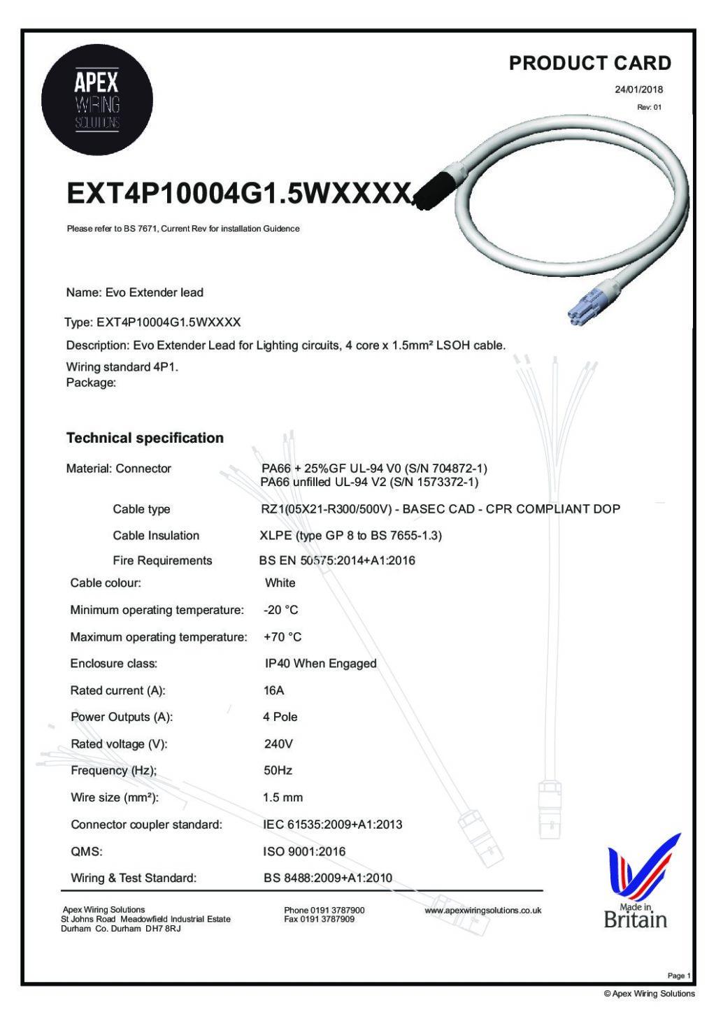 EXT4P10004G1.5WXXXX