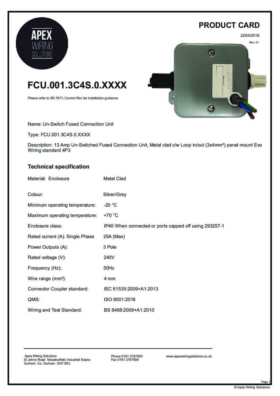 FCU.001.3C4S.0.XXXX